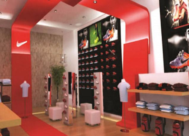 Nike Kish Brand Shop Design by Tarla Studio