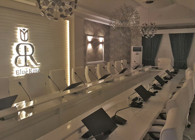 Blue Rose Conference Room by Tarla Studio
