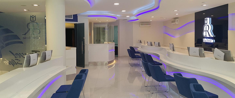 BlueRose Travel Agency Customer Care Unit