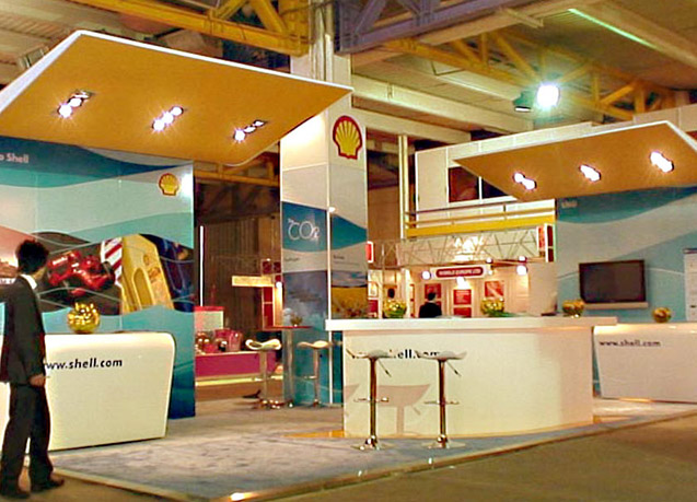 Royal Dutch Shell Exhibition Stand Implementation by Tarla Studio