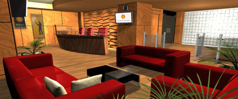 Shell Co.'s Lobby